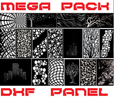 +2000 PANELS ART lot mega pack vector dxf dwg cdr File plasma cut laser CNC