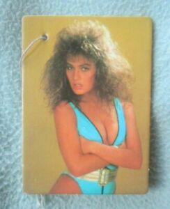SEXY YOUNG WOMAN 1988 Penthouse Pet Vintage 1980's Car Air Freshener MX50 b