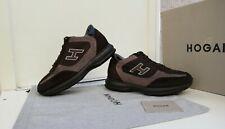 Scarpe HOGAN N.40 (6) ORIGINALI Interactive Shoes Men Size Uomo MARRONI,BEIGE