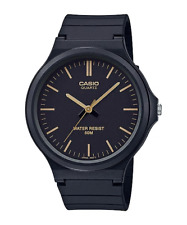 Casio MW240-1E2V, Analog Watch, Black Resin Band, 50 Meter Water Resistant
