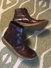 Dr Martens Womans Auth Wedge Short Leather Ankle Doc's Boots Uk6