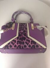 Animal Print Purple Bags & Handbags for Women