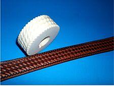 "Oklakoma Basket Stamp Leather Emboss Roll High Impact Poly 1 1/8"" Wide"