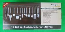 Esmeyer Küchenleiste Oliver 13-teilig Edelstahl
