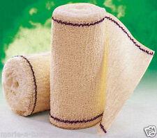 Bande de contention VELPEAU CREPE F pur coton 10 cm x 4 mètres 100% COTON bandes