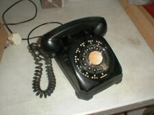 Vintage Stromberg-Carlson Desk Top Rotary Dial Telephone 1543-AK 4-Prong Plug