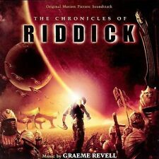 The Chronicles of Riddick Original Motion Picture Soundtrack Cd Graeme Revell