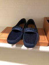 Robert Wayne Tf Monaco Mens Blue Mesh Casual Dress Loafers Shoes