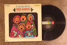 Fred Waring & The Pennsylvanians - A Caroling We Go - Vinyl LP Record - Rare