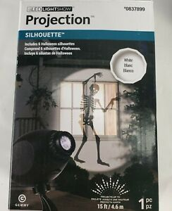 Gemmy Silhouette Projection Multifunction Halloween Outdoor Light Show Projector