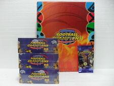 FOOTBALL CHAMPIONS Raccoglitore ufficiale + 3 BOX 36 buste 7 carte anno 2003/04