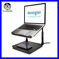 KENSINGTON SmartFit Laptop Riser Stand and Qi Wireless Charging Pad, iPhone X/8