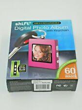 Shift3 Digital Picture Frame Keychain Photo Album Rose