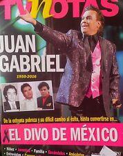 TV NOTAS  ESPECIAL DE JUAN GABRIEL SPECIAL ISSUE TRIBUTE TO JUAN GABRIEL  NEW