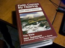 FAITH COMES FROM HEARING THE BIBLE KING JAMES VERSION VOL 4 12 TAPE SET