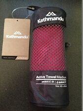 BNWT Kathmandu Pink Pack&Go Medium Quick Dry Outdoors Camping Towel RRP $30