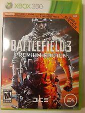 Battlefield 3 -- Premium Edition (Microsoft Xbox 360, 2012) Very Good