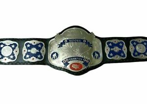 NWA-National-Wrestling-Championship-Belts-Real-Leather--Metal-Plates-Replica
