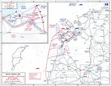 6x4 Gloss Photo ww1DA2 World War 1 Maps Baltic Russia 10 20October 191701