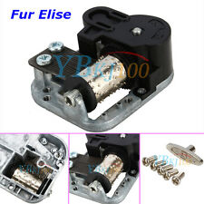 Brand New Wind Up Musical Movements Part with screws For DIY Music Box Fur Elise