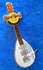 HONOLULU HAWAII WHITE MEMORABILIA WALL TEARDROP VOX GUITAR Hard Rock Cafe PIN LE