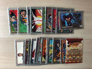 The Return of Superman Trading cards base single card by Skybox 1993 (100)