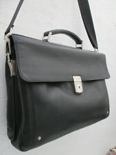-AUTHENTIQUE   sac type cartable  LE TANNEUR cuir  TBEG vintage bag