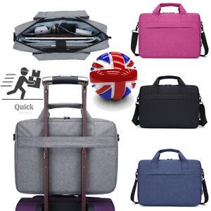"""Laptop Carry Case Cover Shoulder Bag For 14.1""""15.6"""" Laptop Tablet with Strap"""