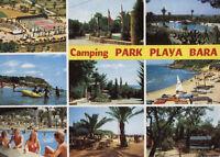 Alte Postkarte - Camping Park Playa Bara
