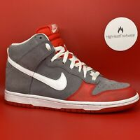 Nike Dunk High Grey Spots 2009 - UK 7.5 / US 10W / EU 42