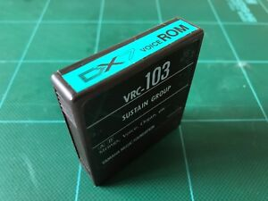 YAMAHA DX7 VOICE ROM VRC-103 SUSTAIN GROUP Free Shipping!!