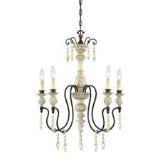 Millennium Lighting 5-Lights Antique White/Bronze Chandelier