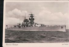 Orig.2 WK POSTKARTE AK WEHRMACHT KRIEGSMARINE Schwerer Kreuzer WW2 Marine