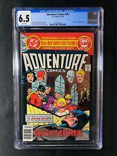 "Adventure Comics #462 CGC 6.5 (1979) - ""Death"" of Earth II Batman"