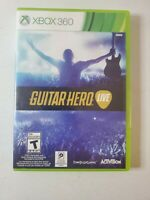 Guitar Hero Live Game Only (Microsoft Xbox 360, 2015) New Sealed