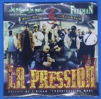 "cd rap "" K. Rhyme le roi / Freeman : La pression  "" neuf 1998 Chroniques de Mars"