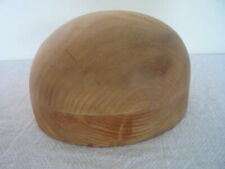 Vintage Milliners Wooden Hat Block Stand Shop Display Home Decor