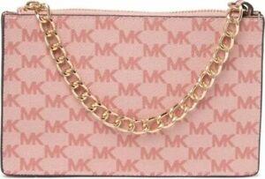NWT MICHAEL KORS Pull Chain Belt Bag $55 VANILLA/BALLET Size: L