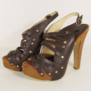 Chinese Laundry Women Talk To Me Platform Shoes, Dark Brown, US 8