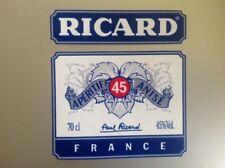 sticker autocollants RICARD taille total 11,5 par 11,5 cm