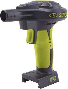 Sun Joe 24V-AJV-CT 24-Volt High-Volume Portable Inflator, Tool Only