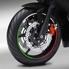 Felgenrand Aufkleber GP Tricolore Italien Motorrad Felgenaufkleber #1113