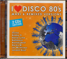 I LOVE DISCO 80's MAXI & REMIXED VERSIONS