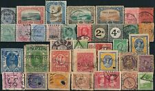 BRITISH COLONIES, UNCHECKED NICE LOT OF DIFF. USED STAMPS.  #A599