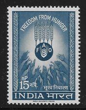 India Scott #372, Single 1963 Complete Set FVF MNH