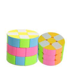 3x3 Geschwindigkeit Cube Magic Puzzle Twist Kind Gehirn Spielzeug Zylinder Cube
