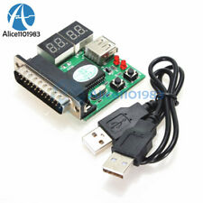 4-Digit Powerful PC Analyzer Diagnostic Motherboard Tester USB Post Test Card