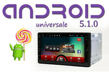 "Autoradio 2 din android QUADCORE 7"" Full HD Touch Vivavoce GPS Mappe 3D Europa"