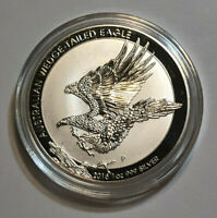 2015-P Australia 1 oz .999 Fine Silver Wedged-Tailed Eagle BU in Capsule