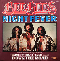 "Bee Gees 7"" Night Fever - France (EX/EX)"